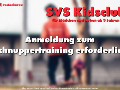 Kidsclub Anmeldung Webseite